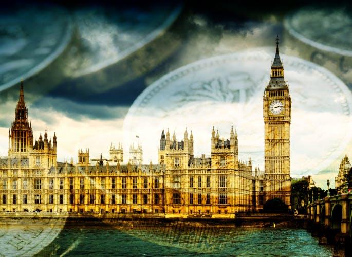 london, money, cash