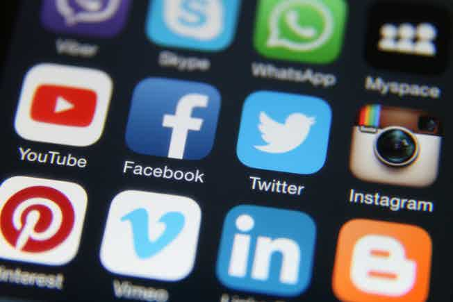 facebook, youtube, twitter