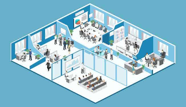 office cartoon