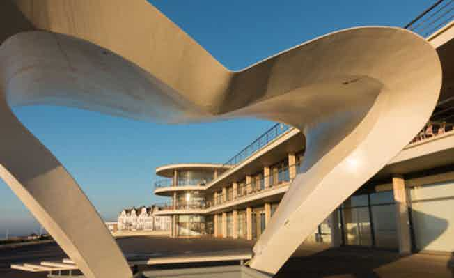 Bexhill-on-Sea seafront pavilion