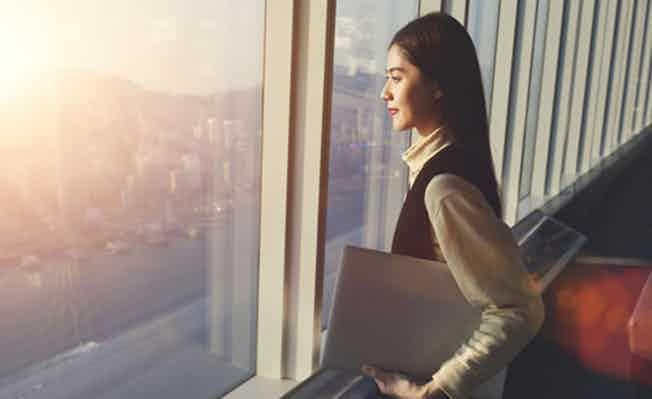 Business woman China