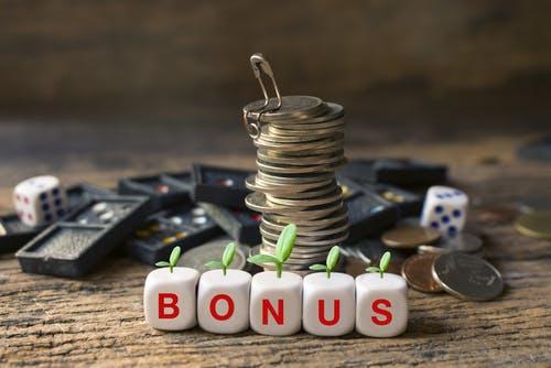 bonus money