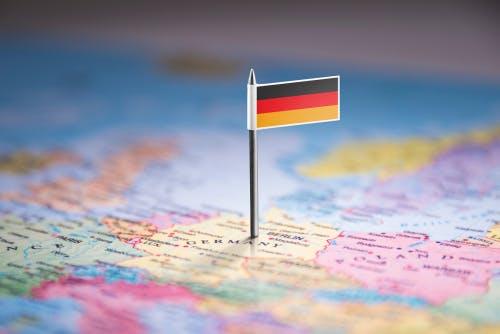 Germany flag German
