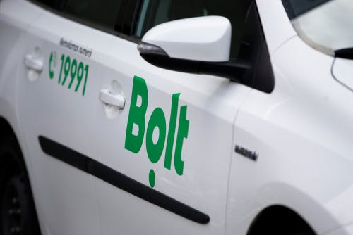 Bolt taxi