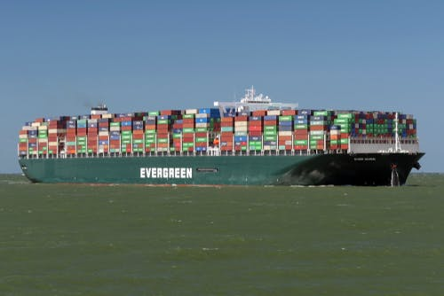 ever given suez container