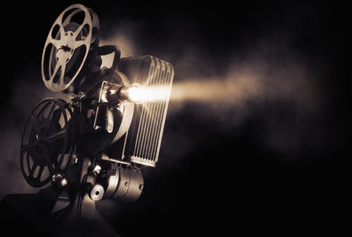 movie film camera projector
