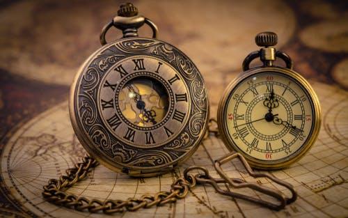 Vintage clock antique